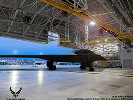 B-21 Raider rendering U.S. Air Force