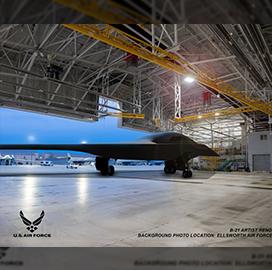 Northrop Logs Progress in B-21 Bomber Aircraft Development