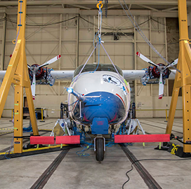 NASA to Hold High-Voltage Ground Tests for X-57 Electric Aircraft