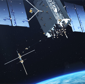 Eric Brown: Lockheed Plans On-Orbit GPS Satellite Servicing Feature