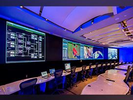 Raytheon MDC video wall