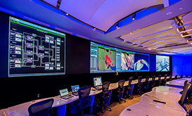 Raytheon MDC video wall