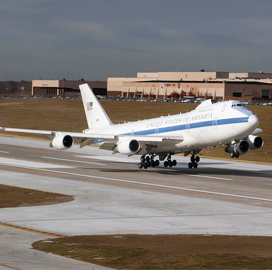 Boeing, Raytheon Help Air Force Update E-4B Command Post Communication Systems