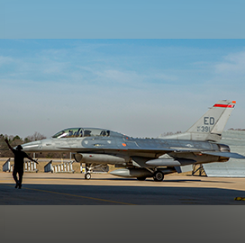 Lockheed to Begin Sustainment Program Following Receipt of F-16 Aircraft From USAF