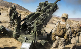Towed artillery US Army photo