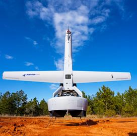 Martin UAV Intros V-BAT 128 Unmanned VTOL Aircraft