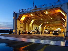 Atlas V transport