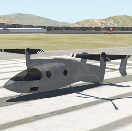 Air Force Taps Transcend Air to Demo Low-Altitude VTOL Flight for Resupply, Evacuation Missions