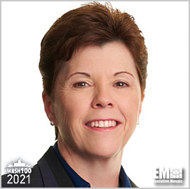 Mary Petryszyn, CVP & President of Northrop Grumman's Defense Systems, Receives 2021 Wash100 Award for Technology Development and Defense Support