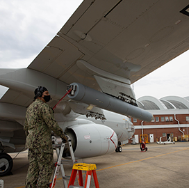 Navy Tests Airworthiness of BAE-Made RF Countermeasure Tech for P-8A Aircraft