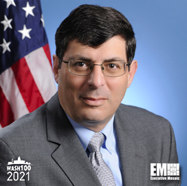 NRO Director Christopher Scolese Named to 2021 Wash100 for Leading COVID-19 Response; Supporting Advancement for Space Exploration & IT Technology Capabilities