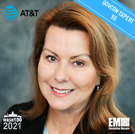 GovCon Expert Jill Singer Receives Sixth Wash100 Award for Demonstrating Leadership with AT&T, FirstNet & Driving 5G Technology