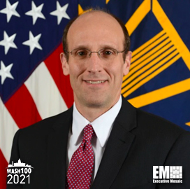 Terence Emmert, Acting Deputy Under Secretary of Defense for Research and Engineering, Named to 2021 Wash100 for Driving U.S. Tech Superiority; Improving U.S. Warfighter Capabilities