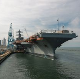 HII Moves Closer to Completing Refueling, Overhaul Work on USS George Washington
