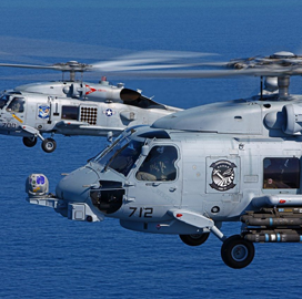 Lockheed Selects Telephonics for Navy MH-60 Helicopter Tech Support Work