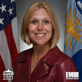 Air Force CIO Lauren Knausenberger Named to 2021 Wash100 Award Recipients for Leading Innovation, IT Modernization Efforts for USAF
