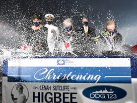 DDG 123 christening HII