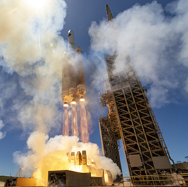 ULA-Built Delta IV Heavy Rocket Sends NRO Satellite Into Orbit