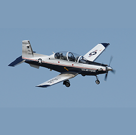 Curtiss-Wright to Update T-6 Military Trainer's Flight Recording System