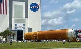 SLS core stage Boeing photo