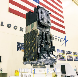 Space Force Receives Signals From Lockheed-Built SBIRS GEO-5 Missile Warning Satellite - top government contractors - best government contracting event