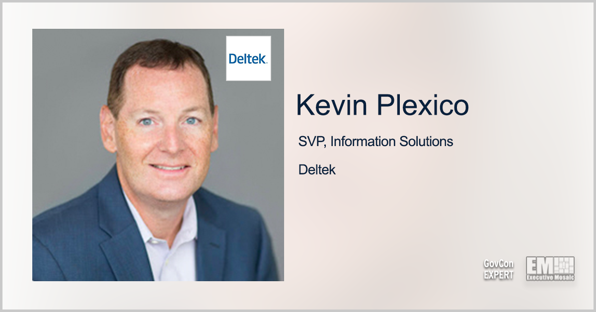 Deltek Report: GovCon Leaders Optimistic on Sales Outlook; GovCon Expert Kevin Plexico Quoted - top government contractors - best government contracting event