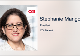 Executive Spotlight: CGI Federal President Stephanie Mango - top government contractors - best government contracting event