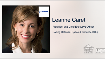 Navy, Boeing Demo MQ-25 Drone's Aerial Refueling Capability; Leanne Caret Quoted - top government contractors - best government contracting event