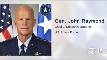 Gen. John Raymond: Northrop's Pegasus Rocket to Launch 'Space Domain Awareness' Satellite - top government contractors - best government contracting event