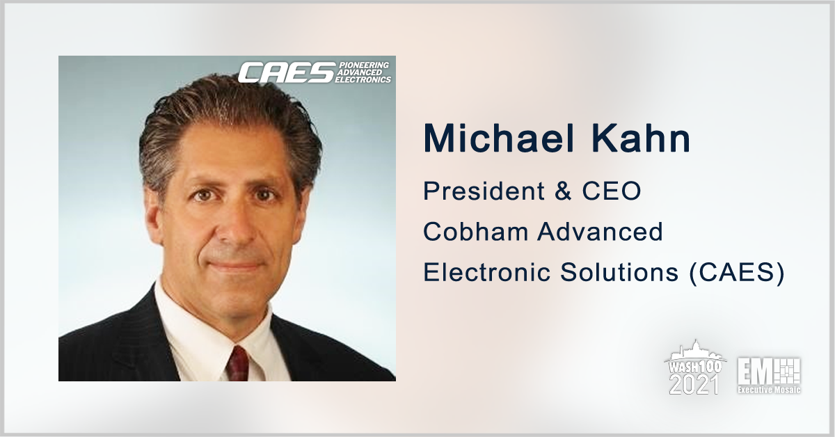 CAES-SkyWater Partnership Seeks to Further Rad-Hard Microelectronics Development; Mike Kahn Quoted - top government contractors - best government contracting event