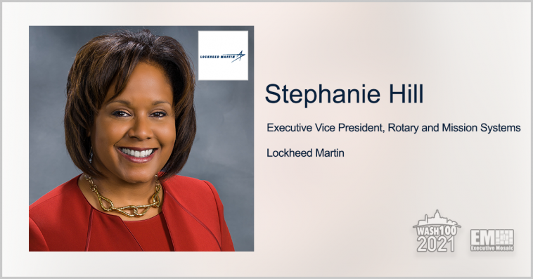 Lockheed Supports DOD's Joint All Domain Operations Goal Through Experimentation; Stephanie Hill Quoted - top government contractors - best government contracting event