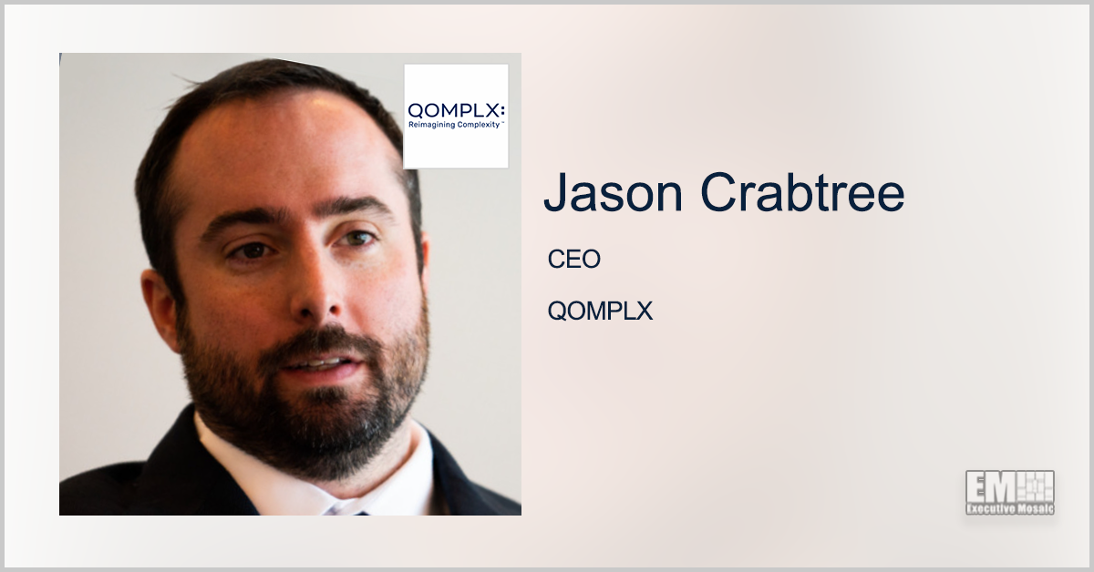 QOMPLX Names 5 Industry Vets as Post-Merger Board Appointees; Jason Crabtree Quoted - top government contractors - best government contracting event