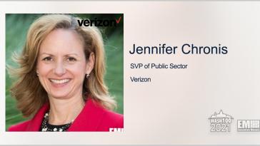 Verizon Public Sector Lands $495M DOD Fiber Optic Network Contract; Jennifer Chronis Quoted - top government contractors - best government contracting event