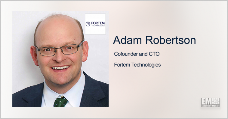 Fortem CTO Adam Robertson Joins FAA's Aviation Rulemaking Committee - top government contractors - best government contracting event
