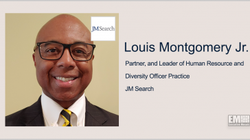 Louis Montgomery Joins JM Search as Partner, Lead of HR & Diversity Officer Practice - top government contractors - best government contracting event