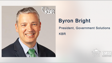 KBR to Provide Support Services for NATO's Patriot Missiles; Byron Bright Quoted - top government contractors - best government contracting event