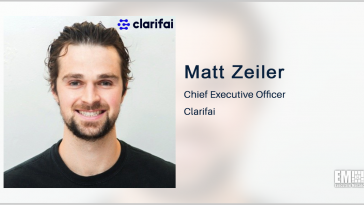 Clarifai, Army Sign R&D Agreement for EO/IR Data Labeling Effort; Matt Zeiler Quoted - top government contractors - best government contracting event