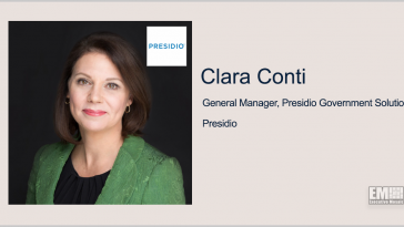 Presidio Launches US Government-Focused Business; Clara Conti Quoted - top government contractors - best government contracting event