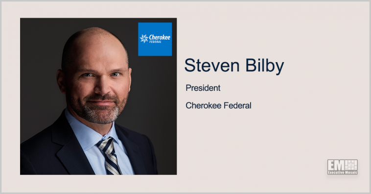 Executive Spotlight: Steven Bilby, President of Cherokee Federal - top government contractors - best government contracting event