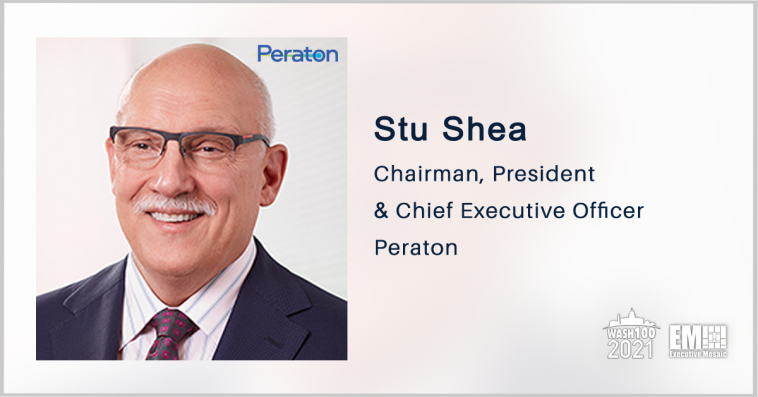 CEO Stu Shea Talks Hybrid Work as Peraton Integrates Northrop IT, Perspecta Acquisitions - top government contractors - best government contracting event