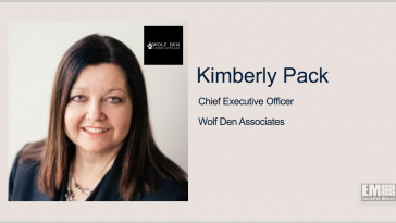 Kimberly Pack Promoted to Wolf Den CEO; Barry Landew, Kevin Robbins Quoted - top government contractors - best government contracting event