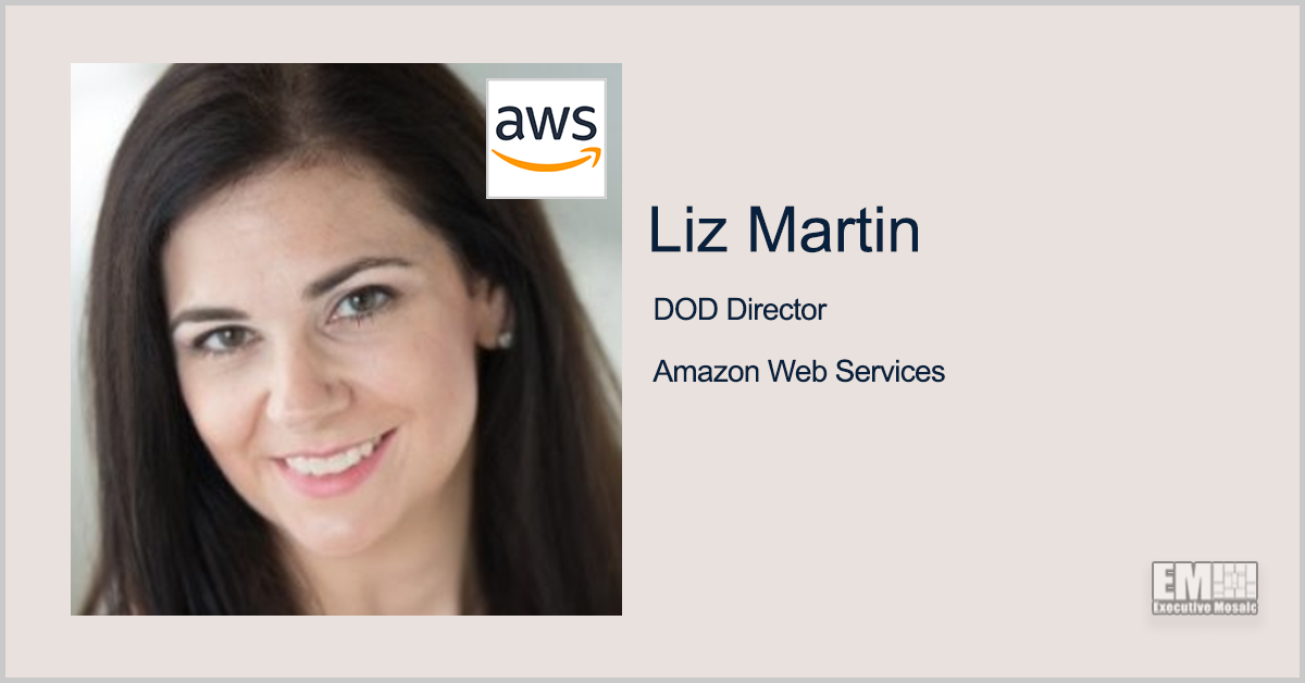 AWS' Liz Martin: Navy Develops Cloud-Enabled DevSecOps Environment - top government contractors - best government contracting event