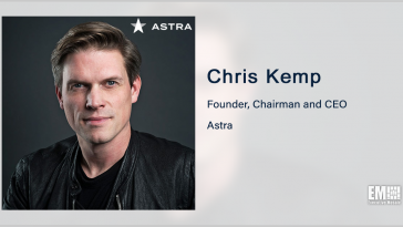 Astra Space Completes SPAC Merger, Starts Trading on Nasdaq; Chris Kemp Quoted - top government contractors - best government contracting event