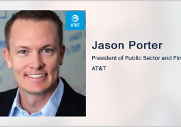 Jason Porter: AT&T Expands FirstNet Cell Site Fleet for First Responder Support - top government contractors - best government contracting event