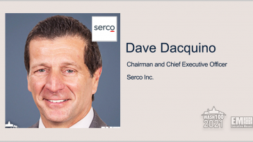 Serco Lands Spot on Potential $400M Re-compete Contract for C5ISR System Support; Dave Dacquino Quoted - top government contractors - best government contracting event