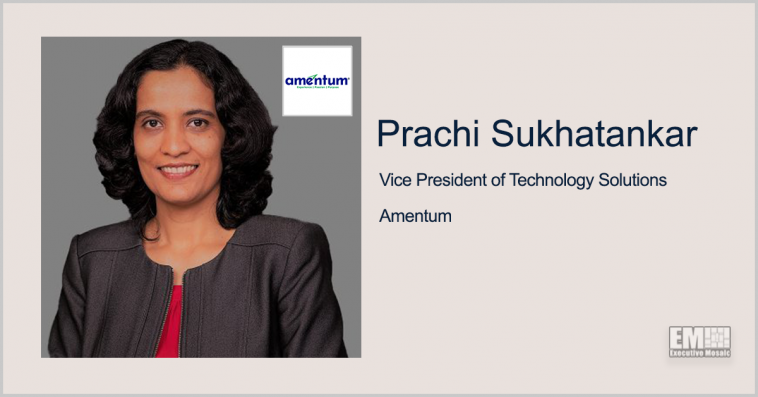 Executive Spotlight: Prachi Sukhatankar VP of Technology Solutions at Amentum - top government contractors - best government contracting event