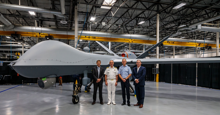 General Atomics Rolls Out Dutch Air Force's 1st MQ-9A Block 5 Drone; Linden Blue Quoted - top government contractors - best government contracting event