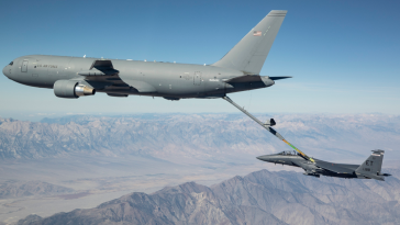 Air National Guard Uses Boeing-Made KC-46 Tankers to Refuel F-35 Jets - top government contractors - best government contracting event