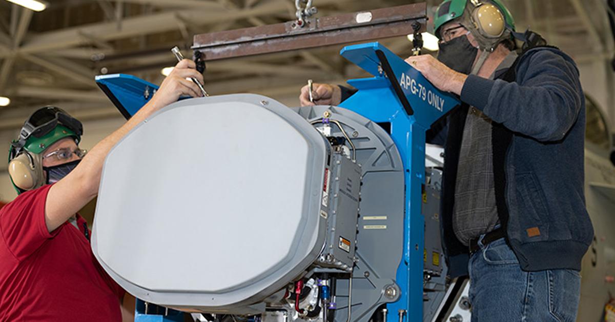 Raytheon Seeks to Provide Fighter Jets Mission Advantage Through GaN AESA Radar