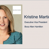 Kristine Martin Anderson Unveils Booz Allen's Plans Following Liberty IT Acquisition - top government contractors - best government contracting event